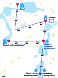 Image result for wdw skyliner map